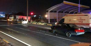 Zincirlemede kazada 3 kişi yaralandı