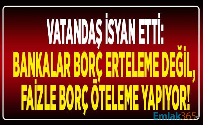 BANKALAR TEFECİLİK YAPIYOR