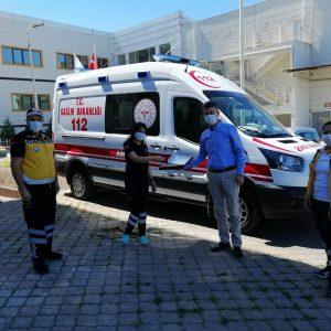 Dr.Bilgehan HASYİĞİT 112 sağlık çalışanlarına kutlama