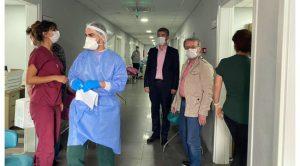 İl Sağlık Müdürü Dr. Yemenici'den Turgutlu'ya ziyaret