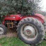 Çalınan traktör ovada bulundu