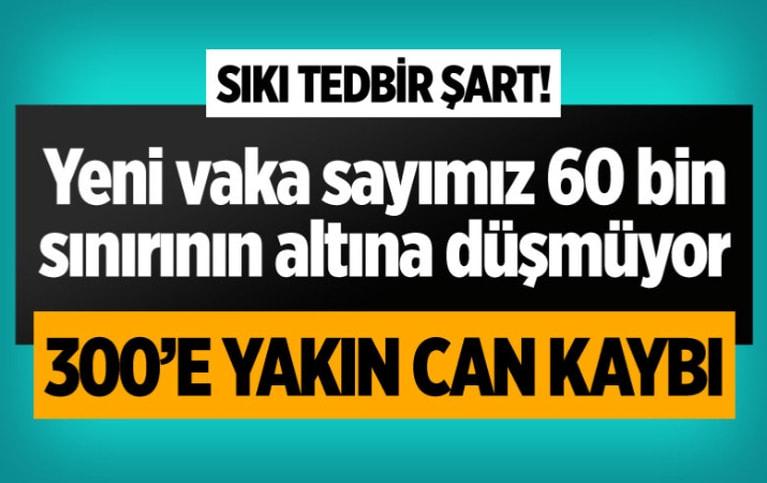 Türkiye 17 Nisan 2021 koronavirüs vaka ve ölü sayısı!
